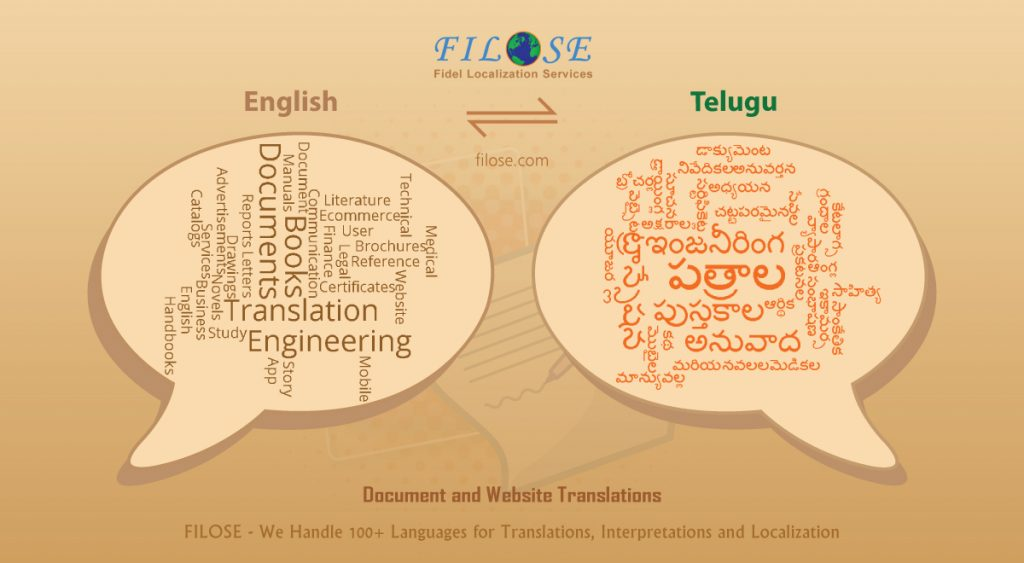 Translate English to Telugu | English Telugu Translation Services